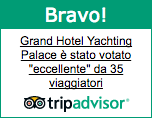 Camere e tariffe, Grand Hotel Yachting Palace - Albergo quattro stelle